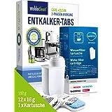 Brita TZ70003 Kit d'entretien avec filtre à eau et tablettes de détartrage pour machines à café automatiques et 12 pastilles