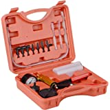 DAYUAN Vacuümpomp Rempomp Tester Set Vacuümmeter en Remb Kit voor Auto met Adapters Behuizing Metalen Handvat