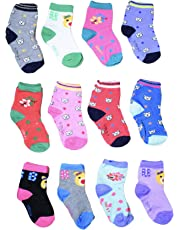 ISAKAA Baby Socks from Just Born to 8 Years- Pack of 4, 6, 8 and 12