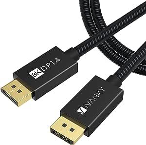 Displayport 1 4 Cable Ivanky Dd01p Us Grey 2 M Elektronik