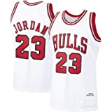 Jordan # 23 Camiseta de baloncesto personalizada Michael Bulls Chicago Bulls 1997-98 temporada Hardwood Classics Player Jerse