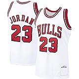 DFGTR Jordan # 23 Camiseta de baloncesto personalizada Michael Bulls Chicago Bulls 1997-98 temporada Hardwood Classics Player