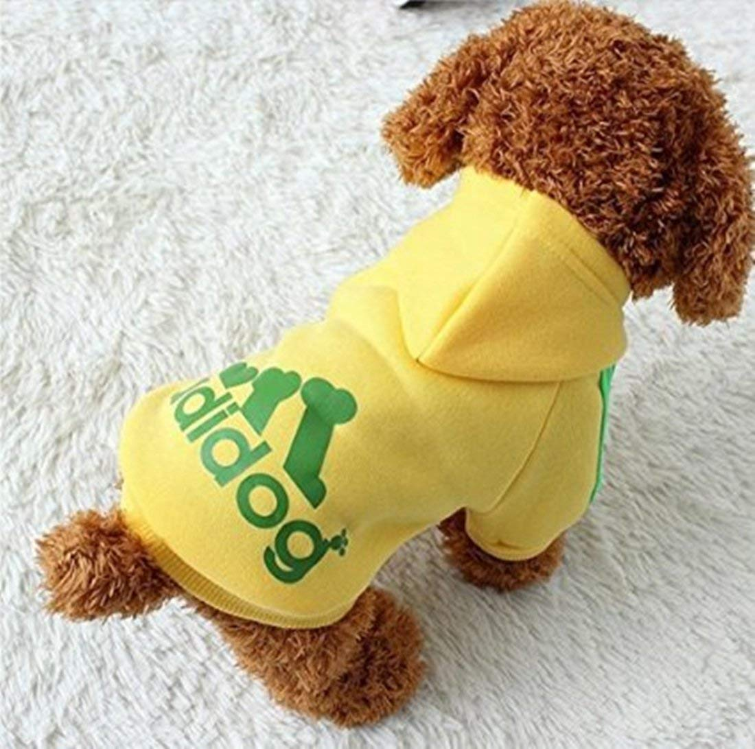 Scheppend Adidog Pet Dog Clothes Winter Coat Jacket Cat Puppy Hoodie Sweaters Cotton Clothing for Small & Medium & Large Dogs 9