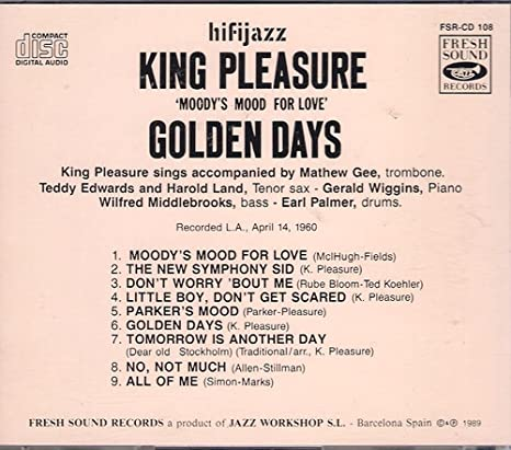 pleasure days King golden