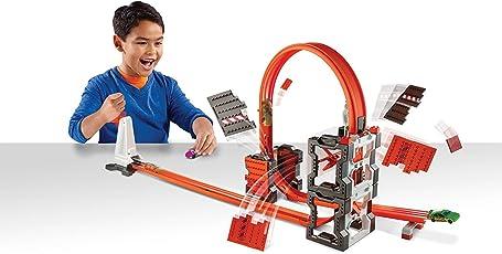 Hot Wheels Track Builder Construction Crash Kit, Multi Color