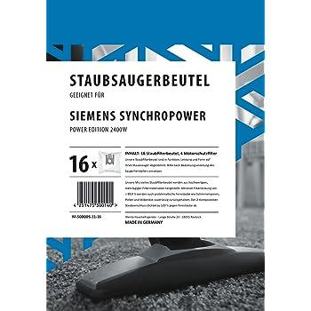 20 Staubsaugerbeutel für Siemens Power Edition