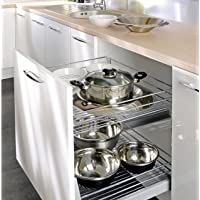 500mm Self soft close , pull out kitchen storage full extension by W7