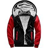 SwissWell Men's Fleece Jacket Windproof Thick Warm Active Coat Full Zip Fleece Outdoors Countrywear Pullover for Man Sweatshi
