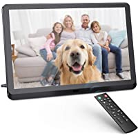 Digital Photo Frame FamBrow 8 inch Digital Picture Frame with HD IPS Display Photo/Music/Video Player Calendar Alarm…