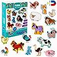 Magneti bambini MAGDUM Animali Fattoria - 15 GRANDI calamite frigorifero - Giochi educativi 1 anno - Giochi bambini 3 anni -