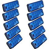 Led Seitenmarkierungsleuchten Yuangu Led Positions Seitenleuchten Blaue Seitenmarkierungsleuchte Montage 12v 24v Wasserdicht Für Pkw Lkw Transporter Anhänger Lkw Pkw Bus 4 Pcs Auto