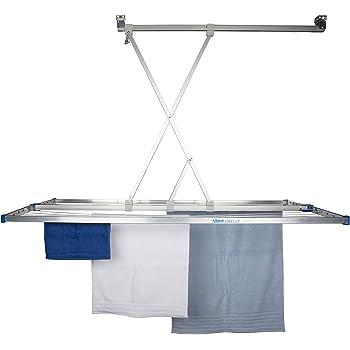 stewi teleskop prestige 100 alu wandw schetrockner kunststoff aluminium silber grau 100 x 10. Black Bedroom Furniture Sets. Home Design Ideas