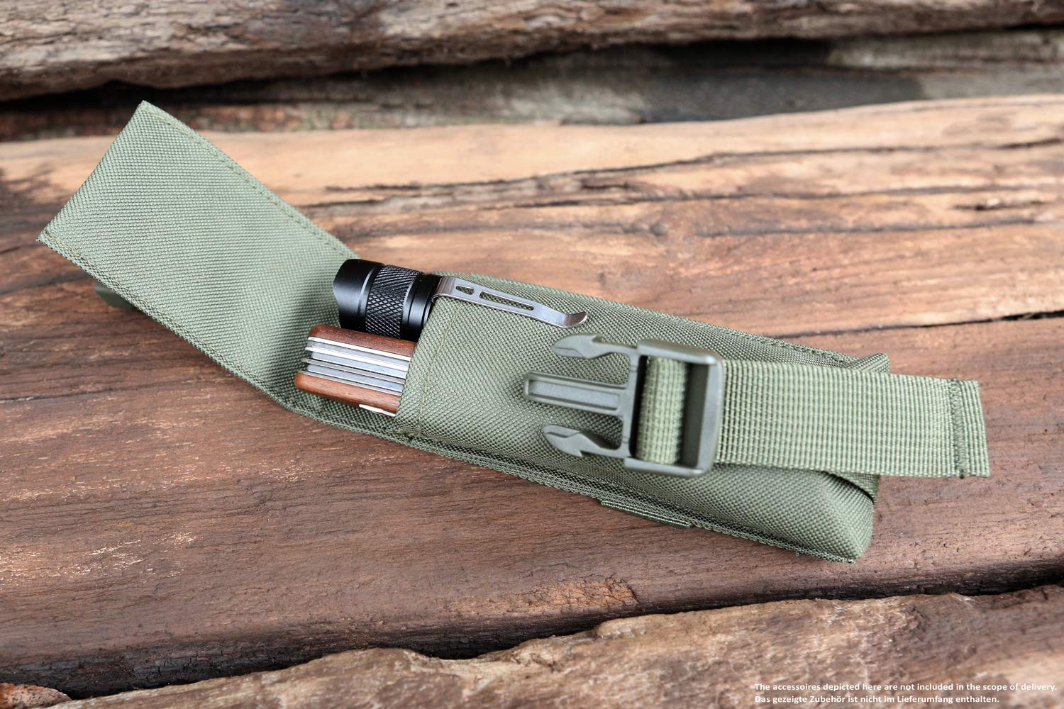 71YZz1N2ocL - Brandit Molle Multi Pouches - Belt Bags, Accessory Pockets, Tool Pockets, Sizes Small, Medium, and Large in 6 Colours