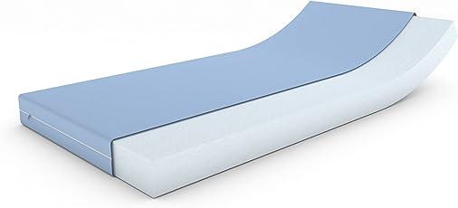 MSS Matratze für Wohnwagen/Wohnmobil/Boot mit Bezug