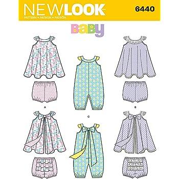 95e9007b8 New Look Sewing Pattern 6293  Babies  Romper