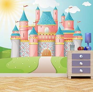 Princess Castle Wall Mural Photo Wallpaper Kids Bedroom Fantasy FairyTale  Kingdom (XX Large 3000mm X 2400mm): Amazon.co.uk: Kitchen U0026 Home