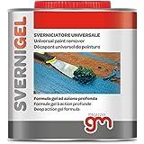 SVERNI GEL, Sverniciatore Universale in gel Professionale per ferro, legno e muro - Elimina vernici, impregnanti e fondi, 750