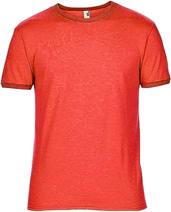 Leichtes Herren T-Shirt mit Rundhals Ausschnitt Anvil