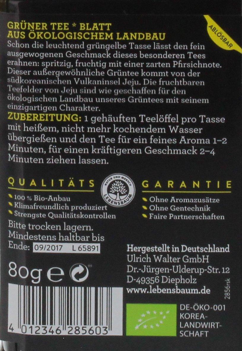 Lebensbaum-Premium-Grn-und-Schwarztees-Tee-Meisterwerke-Grner-Tee-Dose-80-g
