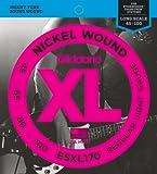 D'Addario ESXL170 E-Bass Saitensatz Double Ball End 0,11 cm - 0,25 cm (.045 - .100 Zoll)