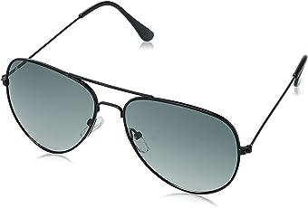 LOUIS SMIT Polarized Aviator Men's Sunglasses - (LS101 C6|58|Green Color)