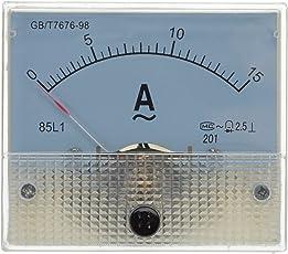 Klasse 2,5 AC 0-15A Genauigkeit Analog Amperemeter Panel 85L1-A