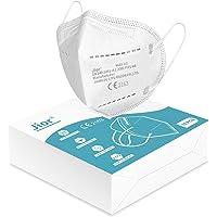 Mascherine Ffp2 Certificate CE 5 Strati Mascherina Ffp2 filtri 95% Passanti Orecchie Senza Valvola Confezione da 10 PC