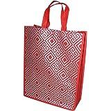 A&A Bags Carry Bag (Set of 10) (Silver_Non Woven Bag)