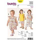 Burda B9435 Patron de Couture Coordonnés 19 x 13 cm