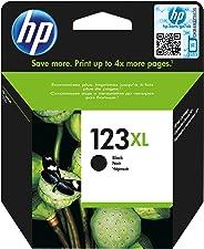 HP 123XL Black Original Ink Advantage Cartridge - F6V19AE