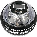 LED Hand- en Armtrainer met toonbank, Gyroscopische handoefenballen, Autostart Pols Trainingsbal Energy Ball Gebruikt voor Re