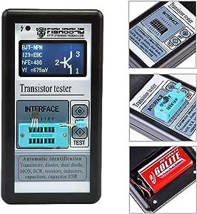 Transistor Tester Multifunktional Tft Farbe Display Diode Thyristor Kapazität Widerstand Induktivität Mosfet Esr Lcr Messgerät Garten