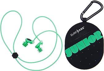 Surf Ears 2.0 JUNIOR Surf-Ohrstöpsel und Wassersport für KINDER - Ermöglicht das Hören und Führen von Gesprächen - Schwimmbad Meer Schwimmen
