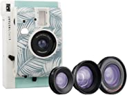 Lomography li800summer17 Lomo'Instant Panama + 3 Lenses - Instant Camera - Blue and white