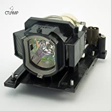 DT01021 - Lamp With Housing For Hitachi CPX2010LAMP CP-WX3014WN CP-X2010 CP-X2010N CP-X4014WN CP-X2011N CP-X3014WN CP-X2511 CP-X3011 CP-WX3011N CP-X2011 Projectors