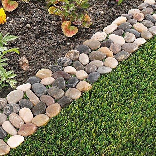 Garden edging review on product for Garden pond edging stones