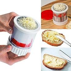 MOGOI Butter Mill, Handheld-Käse Butter Grater Back Werkzeuge für Kinder, die für Gemüse, Schokolade, Brot, Mais füttern