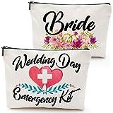 حقيبة ماكياج طوارئ للزفاف ، سيئة العروس ، هدية حفل الزفاف ، مجموعة النجاة في الزفاف ، حقيبة مستحضرات التجميل ، هدايا العروس ،