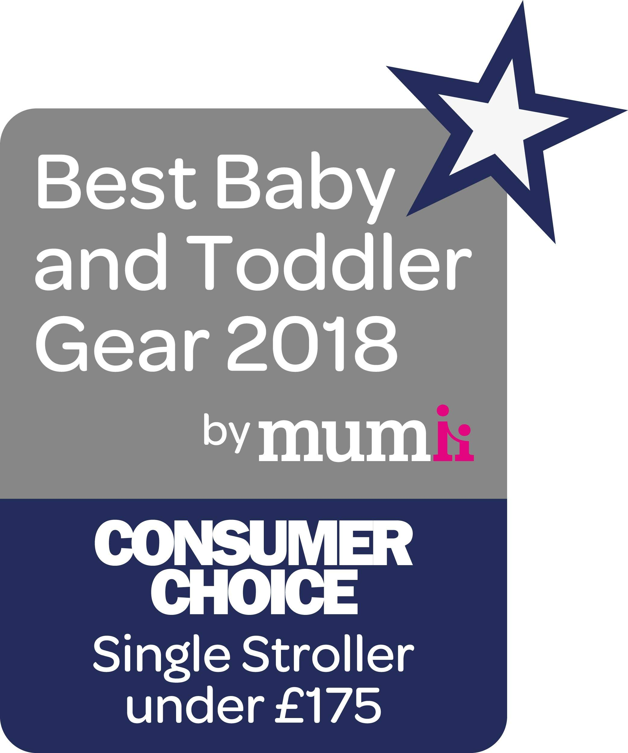 Ickle Bubba Baby Discovery Stroller| Lightweight Stroller Pushchair | Compact Fold Technology for Easy Transport and Storage | UPF 50+ Extendable Hood | Grey/Silver Ickle Bubba ONE-HANDED 3 POSITION SEAT RECLINE: Baby stroller suitable from 6 months to 22kg. 4 years old; features rain cover UPF 50+ RATED ADJUSTABLE HOOD: Includes a peekaboo window to keep an eye on the little one; extendable hood-UPF rated-to protect against the sun's harmful rays and inclement weather LIGHTWEIGHT DESIGN WITH COMPACT FOLD TECHNOLOGY: Easy to transport, aluminum frame is lightweight and portable-weighs only 7kg; folds compact for storage in small places; carry strap and leather shoulder pad included 10