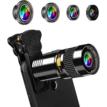 Apexel Universal 18X Clip-On Téléphoto Télescope Appareil photo Téléphone portable Zoom lens