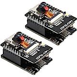 Diymore ESP32-CAM WiFi Bluetooth Development Board, ESP32 DC 5V Dual-core Wireless Development Board with OV2640 Camera TF Ca
