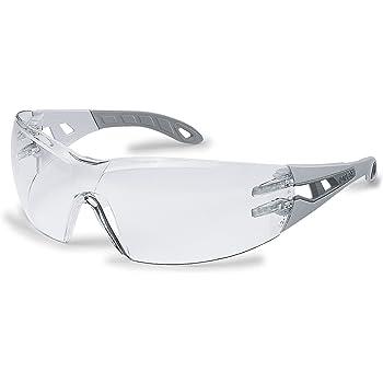 557f7ecd2ed746 Uvex Lunettes de protection transparentes 100 % anti-UV normes EN 166 + EN  170