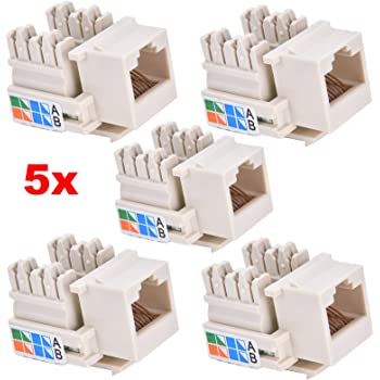 Peachy Kenable Rj45 Face Plate Wall Sockets Cat5E Double 2 Port With Wiring Digital Resources Indicompassionincorg
