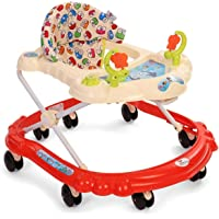 Sunbaby Butterfly Walker (Red/White)