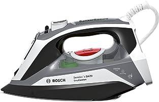 Bosch TDA70EASY Dampfbügeleisen 200 g Dampfstoß, 3-fach Entkalkung 2,400 W, schwarz/grau/weiß
