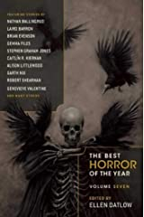 The Best Horror of the Year Volume Seven: 7 Paperback