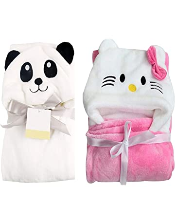 My Newborn Baby Blanket Wrappers -Combo of 2 Pcs (Katty-Panda)