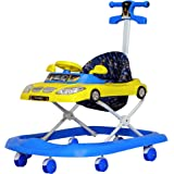 Steelbird Toddler Kids Walker with Toy and Music System, 3 Stage Adjustable Height for 6 Months and Above Kids with Soft…