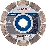 Disque à tronçonner diamanté Bosch Professional Standard for Stone (pour pierre, 125 x 22,23 x 1,6 x 10mm, accessoires meule