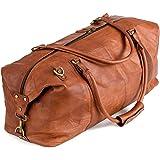 Berliner Bags Borsone Pelle Munchen XL Weekender per Palestra Viaggi Uomo Donna Vintage Marrone